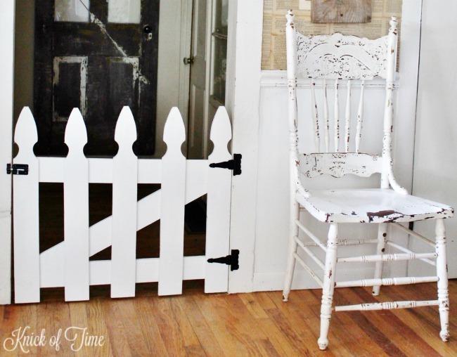 DIY pet or baby gate