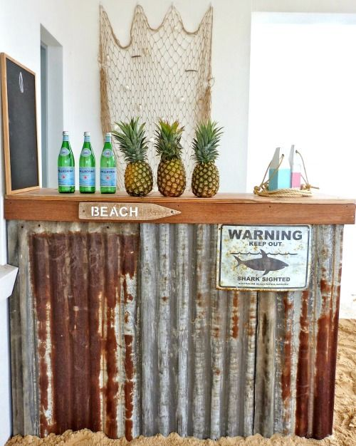 10 pool party ideas to cool down your summer zing blog for Beach bar decorating ideas