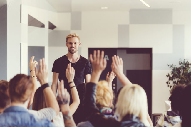 The First Breath: Overcoming the Fear of Public Speaking - Quicken Loans Zing Blog