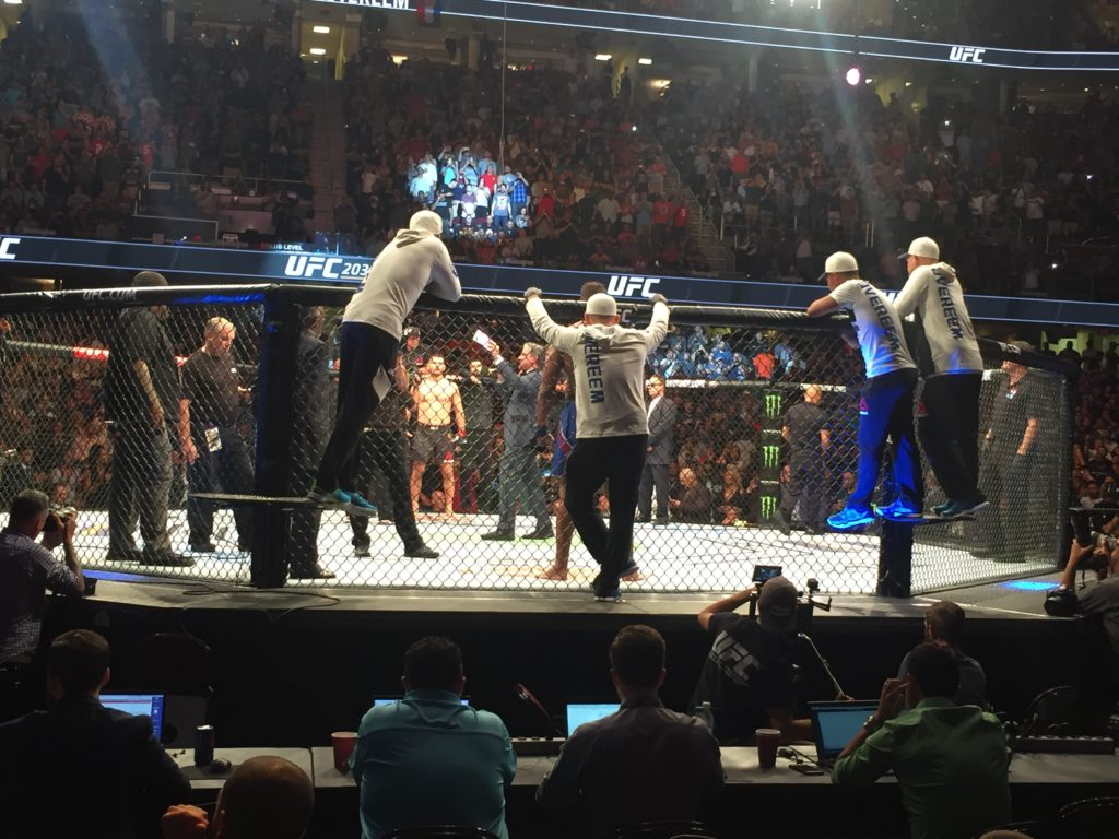 Client Surprises Husband with Tickets to a UFC Fight - Quicken Loans Zing Blog
