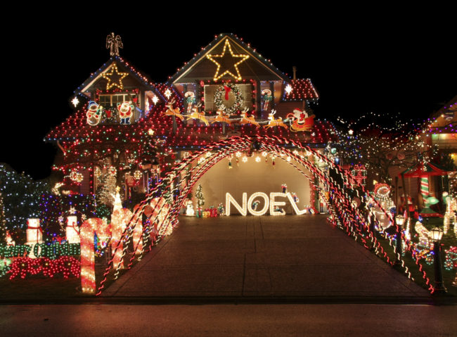 beautiful christmas light display