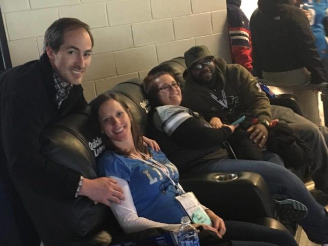 Veterans Honored at Detroit Lions Salute to Service Game - Quicken Loans Zing Blog