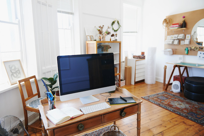 48 Steps To Creating Your Dream Office At Home ZING Blog By Quicken Fascinating Office At Home Furniture