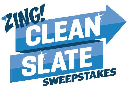 Winners Announced In The Zing Clean Slate Sweepstakes!