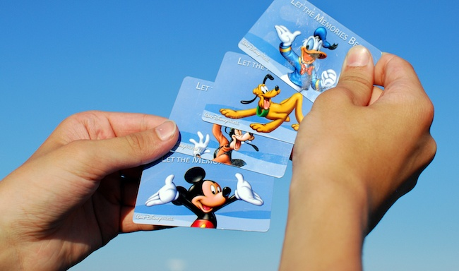 Disney World Park Passes