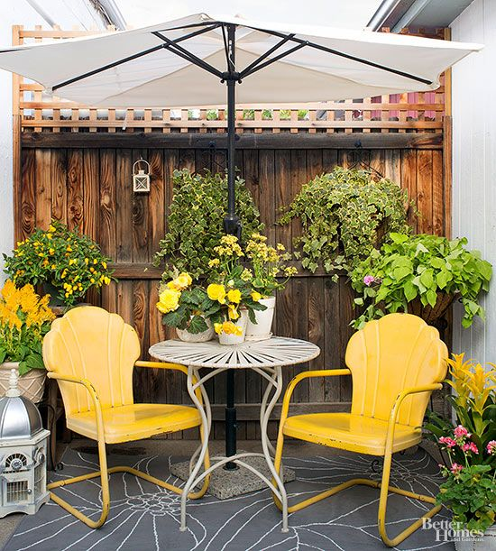 How To Turn A Tiny Yard Into A Trendy Patio Zing Blog By