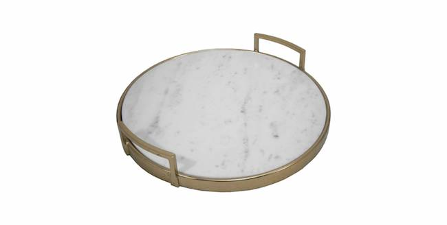 Gold and Marble Tray - Threshold™