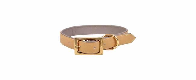 Leather pet collar