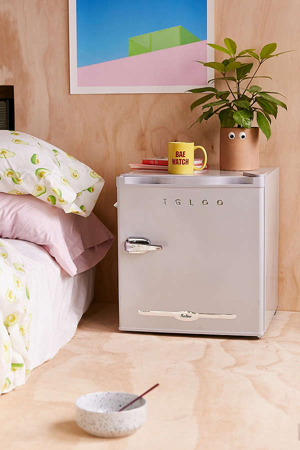 retro style Igloo fridge