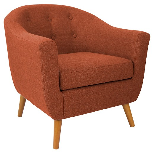 Orange chair