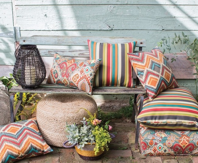 Coral Coast Global Collection Outdoor Pillows