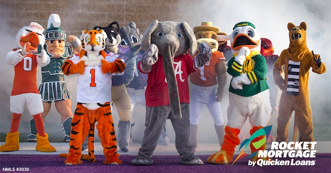 Score a Touchdown with These College Football Mascot GIFs - Quicken Loans Zing Blog