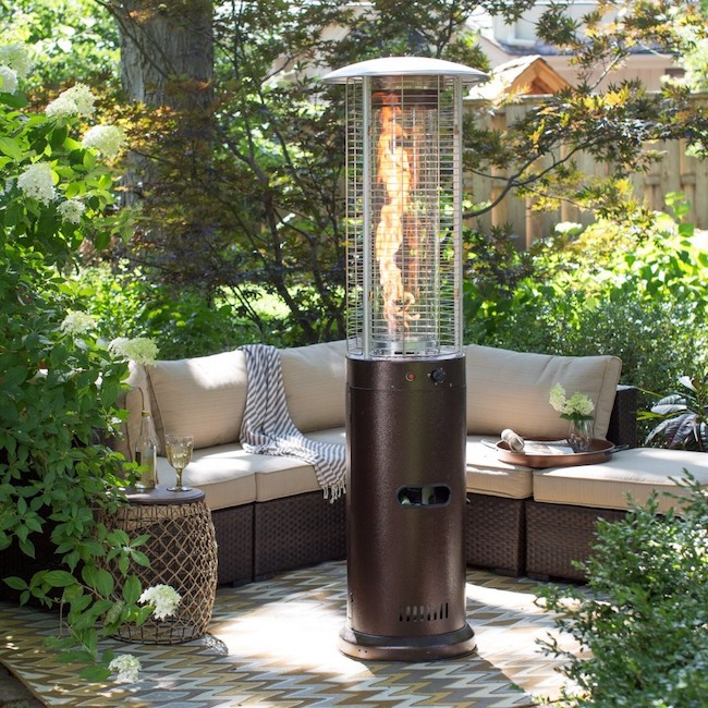 Red Ember Fuego Patio Heater - Hammeredtone Bronze