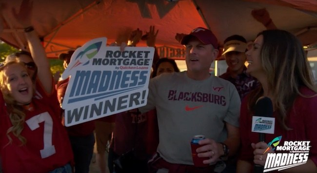 Rocket Mortgage Madness Returns for the College Football Season - Quicken Loans Zing Blog