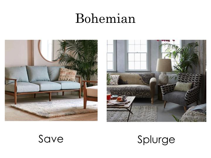 Bohemian sofas