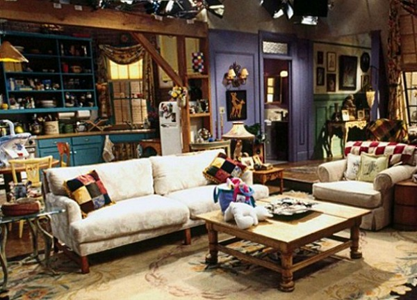 "The ""Friends"" TV Show House"