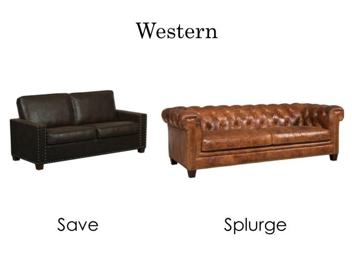 Western sofas