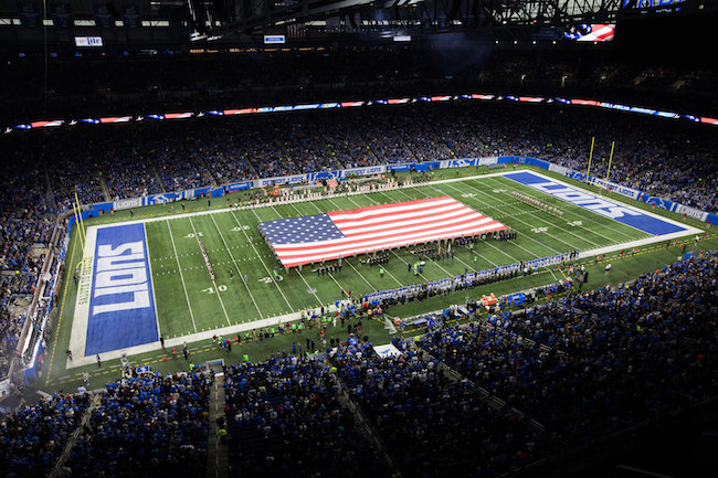 Quicken Loans, Detroit Lions Team up to Salute Veterans - Quicken Loans Zing Blog
