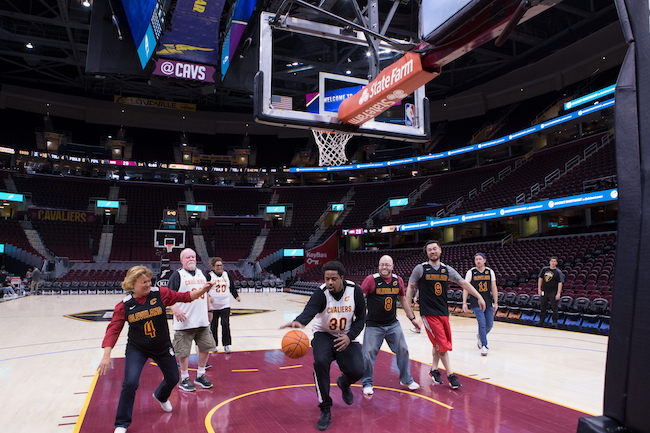 Watch 10 Clients have the Ultimate Cavs Experience and Get 10% off Cavs Merch - Quicken Loans Zing Blog