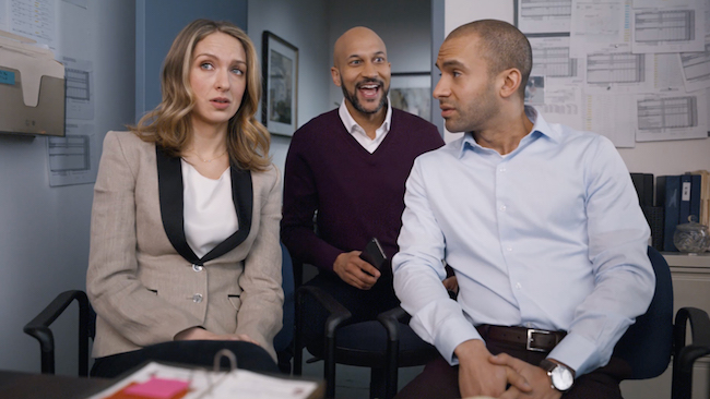 Keegan Michael Key in the Rocket Loans Super Bowl commercial