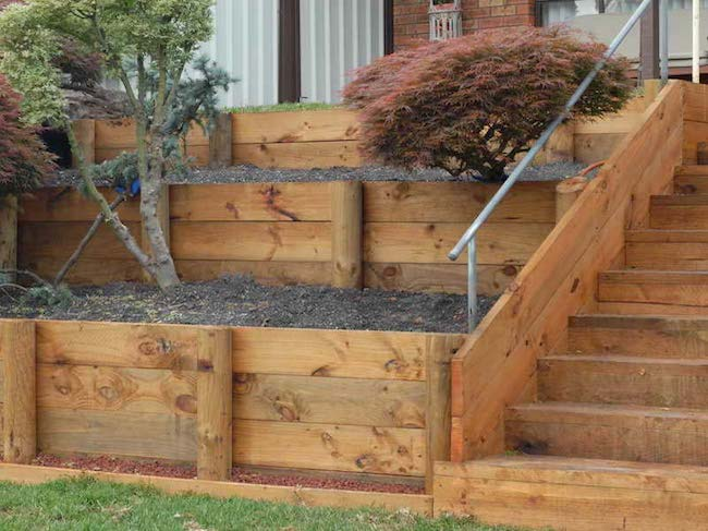 Design Of Retaining Walls Examples: Hardscaping Trends To Make Your House Stand Out