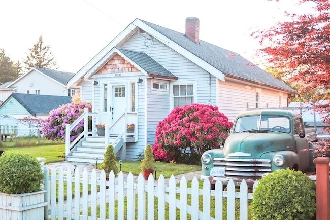 Classic suburban house