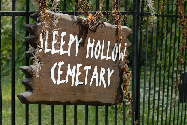 Sleepy Hallow cemetery