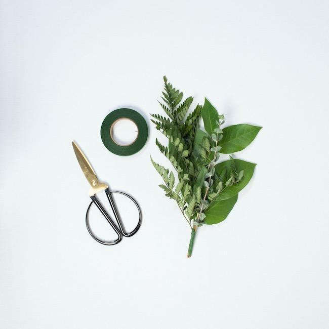 binding greenery