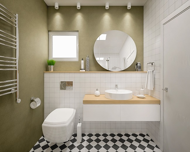 small bathroom sink