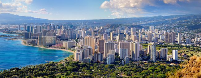 Most Expensive Cities In The US Honolulu, Hawaii Urban Honolulu Skyline