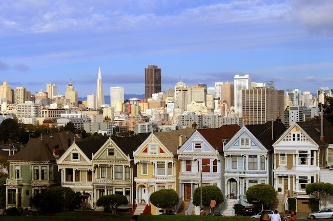 Most Expensive Cities In The US San Francisco, California Painted Ladies Of Alamo Square