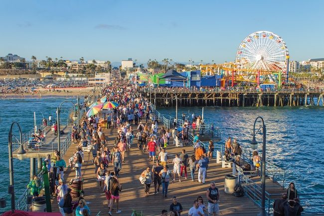 Most Expensive Cities In The US Los Angeles, California Santa Monica Pier