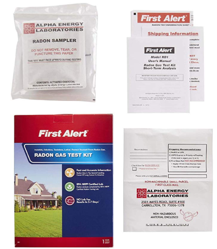 First Alert Radon Gas Test Kit, RD1