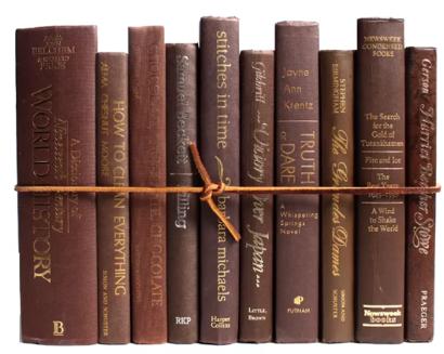 Authentic decorative books