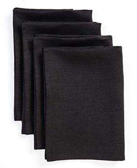 Linen dinner napkins