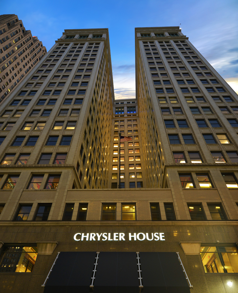 Chrysler House Exterior, 719 Griswold Street