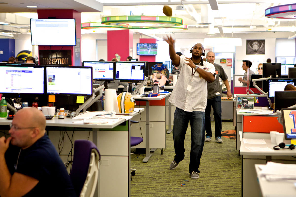 Culture Photos Of Team Members At Qube, 2013.