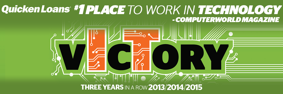 Computerworld Names Quicken Loans #1 Best Place To Work In Technology For 3rd Consecutive Year