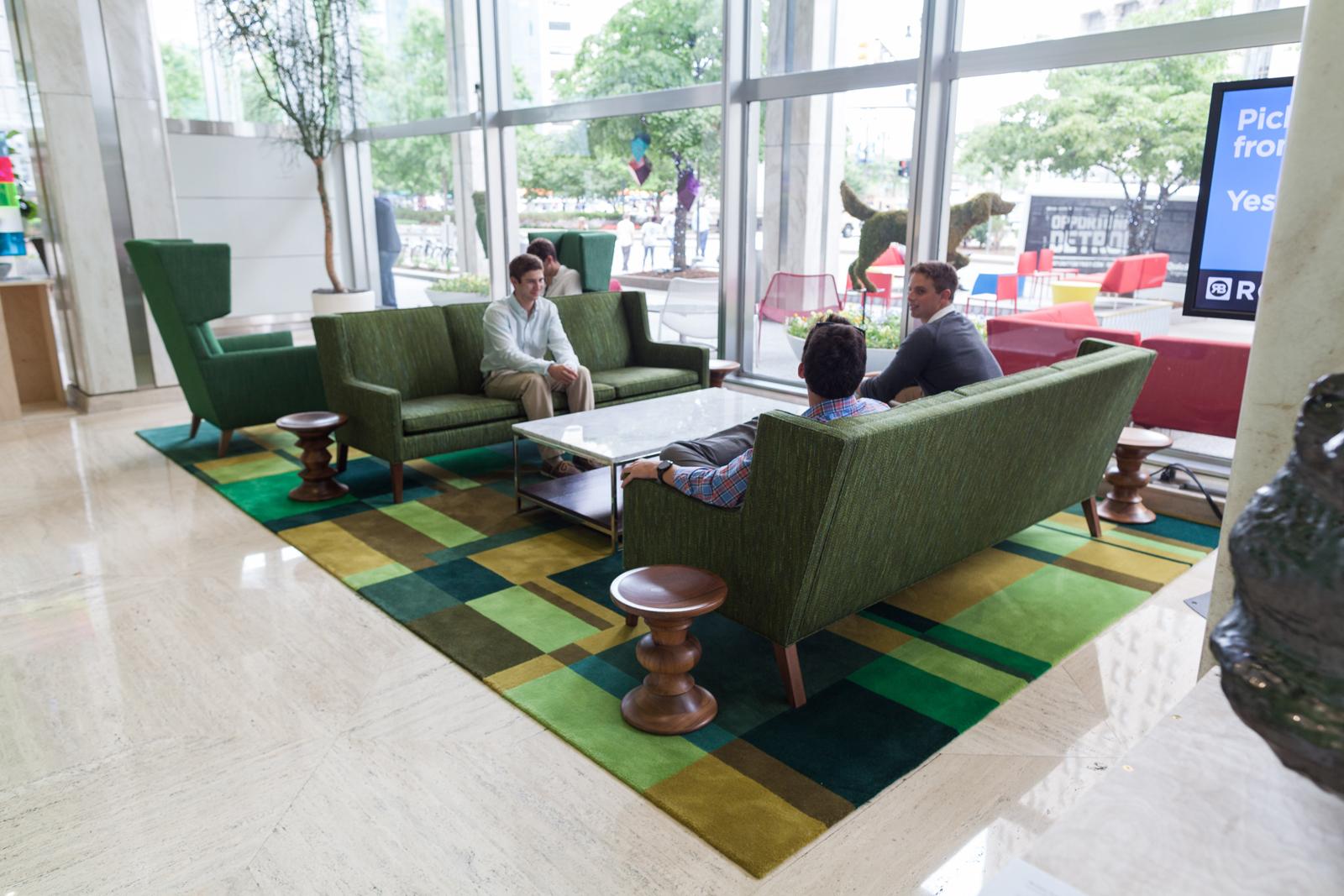 Qube Building Interior Photos 2014