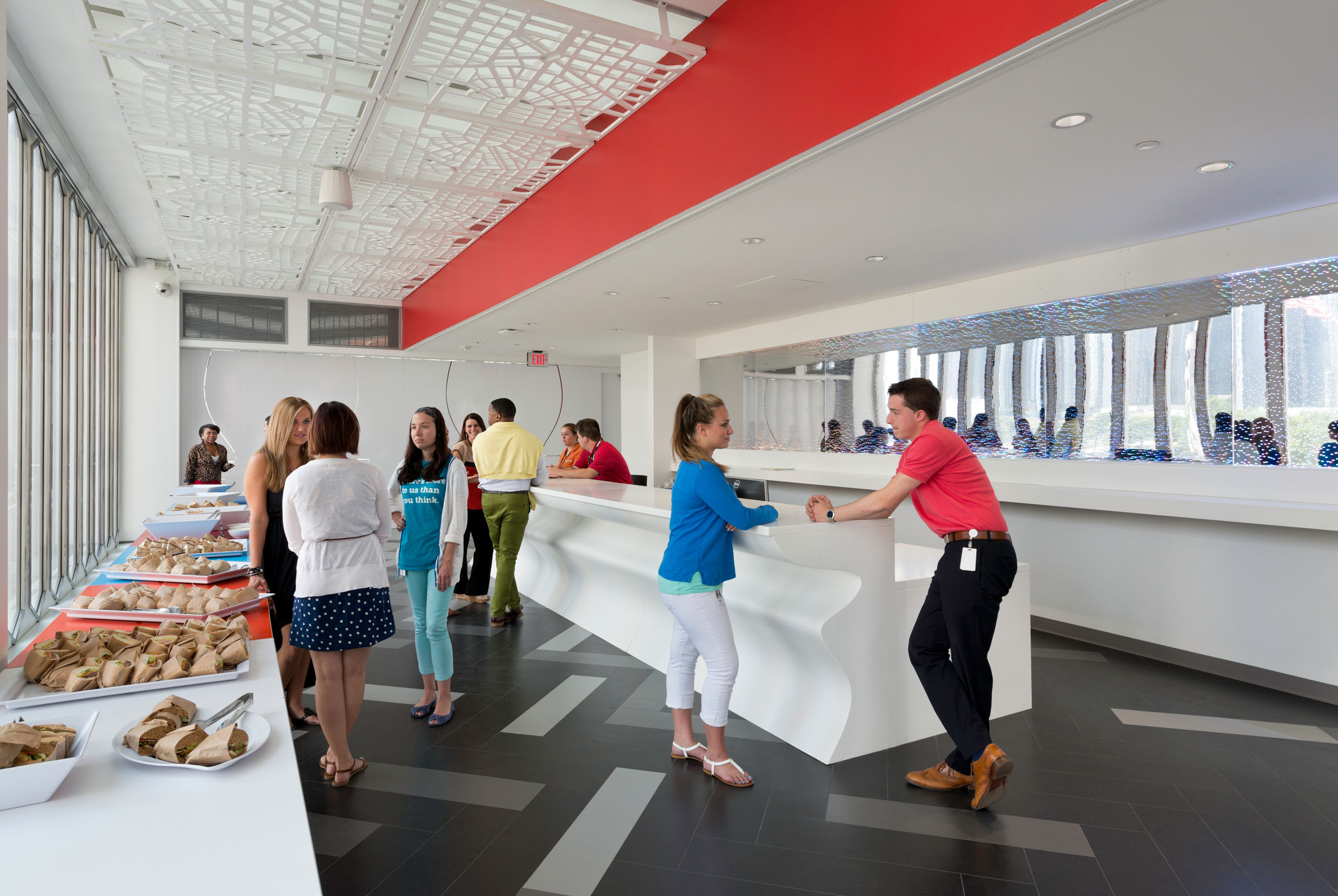 One Woodward Interior Photos 2013