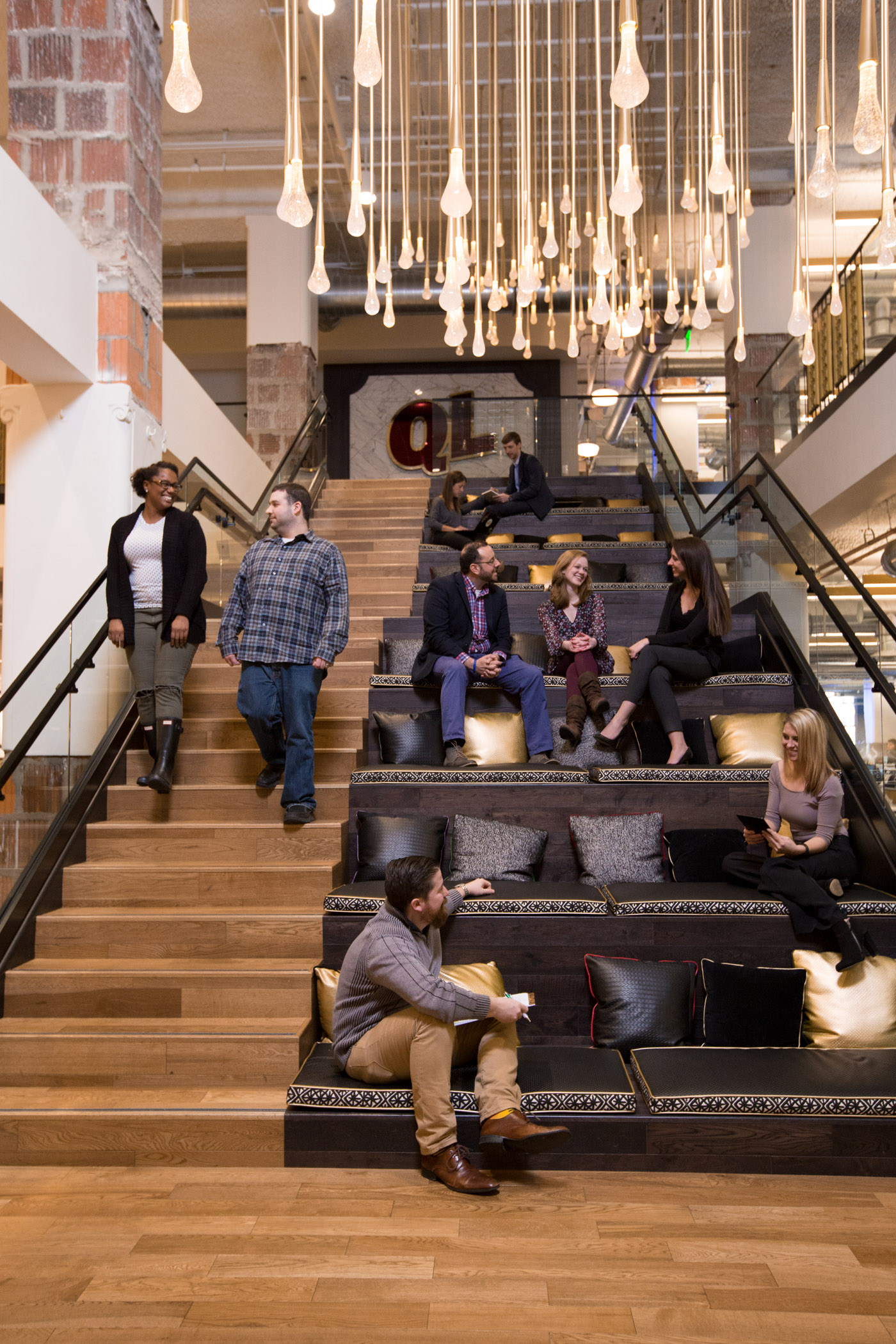 Culture Photo Of The Cleveland Office, 2017.