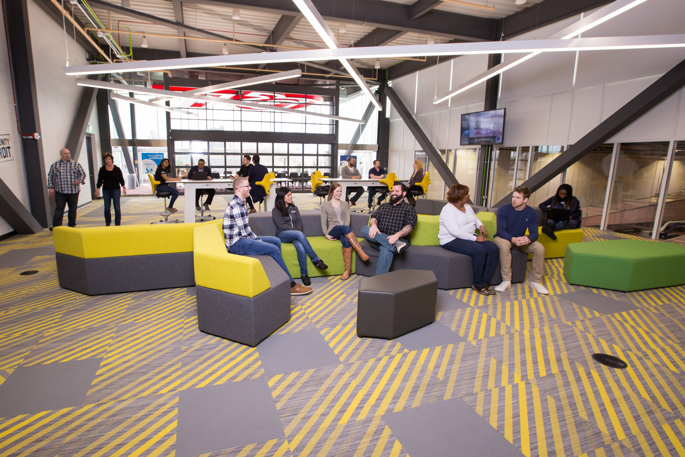 Work Culture At The Quicken Loans Data Center, March 2017.