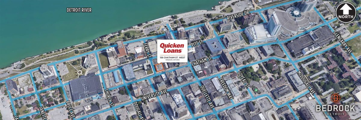 Quicken Loans And Its Family Of Companies To Open Technology Office Across River From Detroit Headquarters In Windsor Early In 2019
