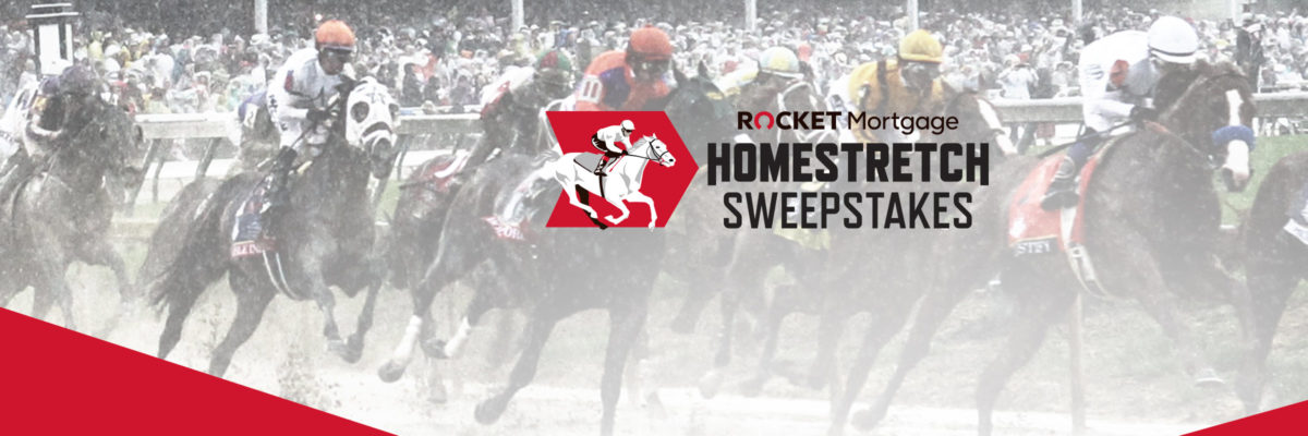 AND THEY'RE OFF! Rocket Mortgage Partners With  Churchill Downs To Launch The 'Homestretch Sweepstakes' For The Kentucky Derby Offering One Lucky Winner $250,000