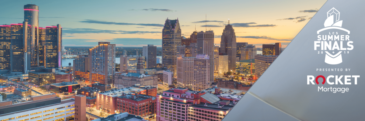 The Gaming World To Shine Spotlight On Detroit As Rocket Mortgage Brings League Of Legends To City As Presenting Sponsor Of LCS Summer Finals