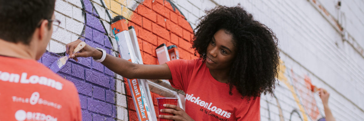 Quicken Loans Small Business Murals Project Returns For 3rd Annual Collaboration Between Detroit Entrepreneurs And Muralists