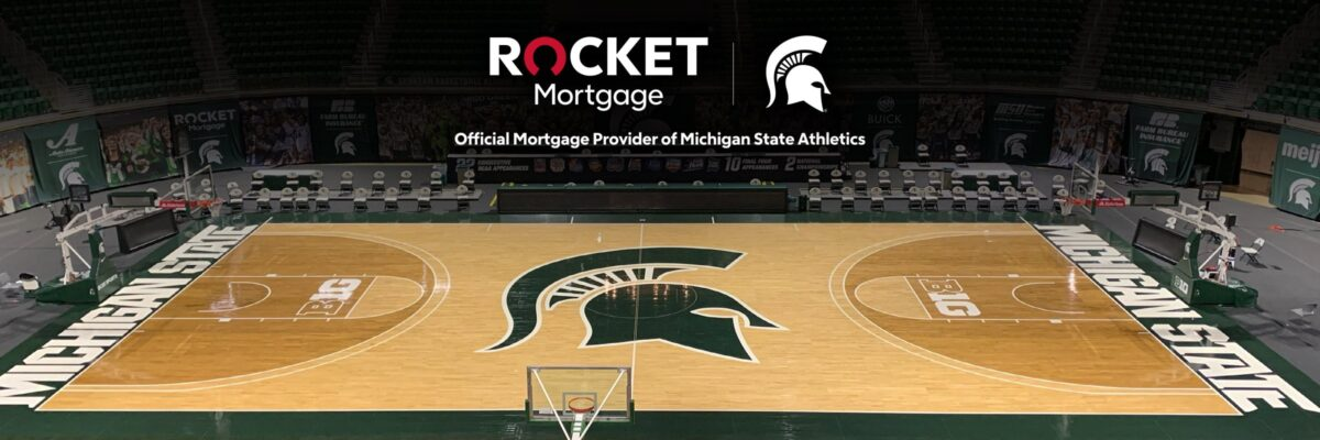 Rocket Mortgage Greatly Expands Partnership With Michigan State University Athletics, Continues Role As Official Mortgage Provider